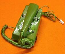 Geemarc Trimline Retro Style 2 Piece Corded Green & Black Telephone Phone UK