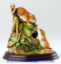 Border Fine ArtsHarvest Mice. From TheMammals Collection RRP £53.00 New In Box