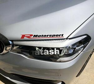 RACING MOTORSPORT R Sport Performance Car Truck Vinyl Decal Sticker Emblem logo