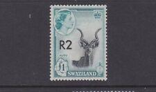 SWAZILAND 1961 SURCHARGE 1r ON 10s BLACK/VIOLET