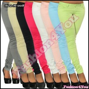 Sexy Ladies Jeans Womens Trousers Skinny Jeans Hipsters Size 6,8,10,12,14 UK New