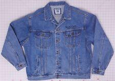 Rolling Stones World Tour 2002/03 XL Lee Denim Jacket Embroidered Logo