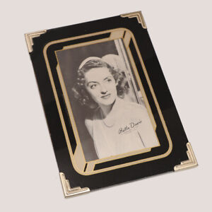 1930's Vintage Art Deco Reverse Painted Glass Picture Frame, Easel Back 5 x 7""
