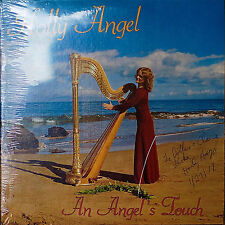 HOLLY ANGEL: An Angel's Touch-SEALED AUTOGRAPHED LP Harp
