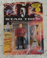 MOC 1994 STAR TREK Generations ADMIRAL JAMES T. KIRK Action Figure PLAYMATES