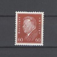Dt. Reich Mi.Nr. 421, 60 Pfg. Freimarke 1928 **, geprüft BPP (22263)
