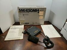 Standard 144 / 450 MHz fm Dual Bander Model C5718Da in the box