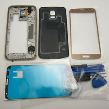 Housing back cover middle frame bezel outer glass for galaxy s5 g900 g900f g900a