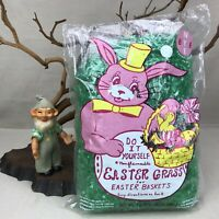 NYE Products Easter Grass Bag Vintage Do it Yourself for Baskets