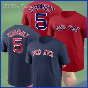 HOT SALE - Enrique Hernandez #5 Boston Red Sox Name & Number T-Shirt