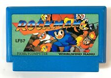 Family Computer Famicom Game Cartridge - LF57 LF 57 Whirlwind Manu Rockman