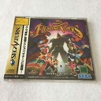 Fighting Vipers Sega Saturn game JAPAN New and Factory Sealed TRACKING