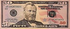 $50 Dollar Bill Series 2004 - 2013 Selected FRB Districts Lightly Circulated