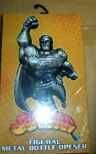 SUPERMAN  OFFICIAL FIGURAL  Metal Bottle Opener NEW MIB