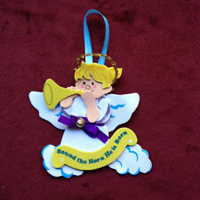 Bugling Angel Christmas Ornament Craft Kit - Tinsel, Bell ,2+ ITEMS SHIP FREE!