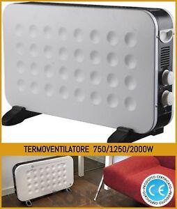 Termoconvettore elettrico Termoventilatore stufa elettrica stufetta bassoconsumo