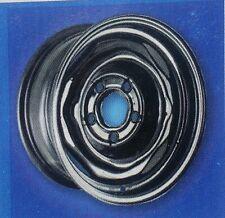 "Chevrolet Buick Olds Oldsmobile Pontiac Wheel Rim OEM steel 14"" black"