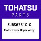 3J6S67510-0 Tohatsu Motor cover upper ass'y 3J6S675100, New Genuine OEM Par