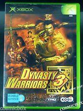DYNASTY WARRIORS 3 jeu de guerre et combats samouraï pour console XBOX pal testé