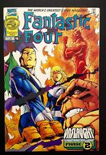 FANTASTIC FOUR #416 Final Issue low print run Marvel 1996 Onslaught tie-in