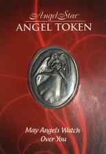 May Angels Watch Over You -Inspirational Metal Angel Token -
