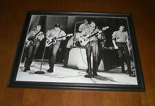 Beach Boys Framed B&W Print Performing