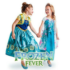 Girl Dress Costume Princess Anna Queen Elsa Party size 2-10