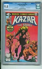 Ka-Zar  the  Savage #1 cgc 9.8  April 1981 White Pages