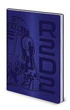 Star Wars R2-d2 Flexi-cover Notizbuch A5 Notebook 15x21cm