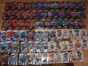 Disney Infinity 1.0 2.0 3.0 Figures Star Wars Character Originals Marvel Select