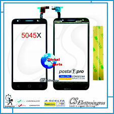 """Ricambio TOUCH SCREEN Alcatel One Touch Pixi 4 5"""" 4G OT-5045D 5045 5045x +biades"""