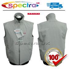 "PRADA DESIGNER Gore-tex Sleeveless Jacket Coat Gilet Medium Art. Sgv498 46"" Grey"