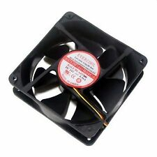 PC Computer Case Cooling Fan Cooler 24V 24Volt 120mm 3Pin 120 x 120 x 38mm RoHS
