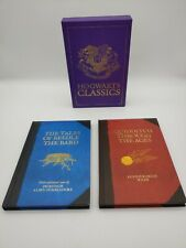 Hogwarts Classics: Quidditch Through Ages, Tales Of Beedle The Bard - JK Rowling