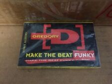 GREGORY D MAKE THE BEAT FUNKY FACTORY SEALED CASSETTE SINGLE 1
