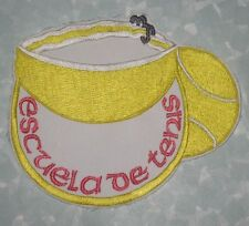 "Escuela de Tenis Patch - Tennis School - 5"" x 4"""