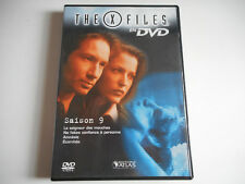 DVD - THE X FILES N° 50 SAISON 9 / 4 EPISODES 5, 6, 7, 8 - EDITIONS ATLAS
