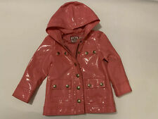 Juicy Couture Pink Rain/ Luxury Jacket Sz 2T