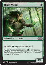 Elvish Mystic x4 NM-VLP Magic the Gathering MTG Magic 2015 Core Set, # 173