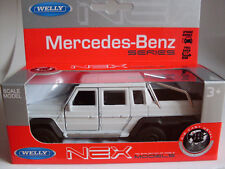 Mercedes-Benz G 63 AMG 6x6, Welly Auto Modell 1:36
