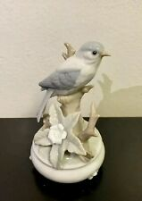 The San Francisco Music Box Ceramic Bird Sitting On The Branch, Japan