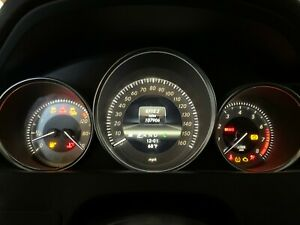 INSTRUMENT CLUSTER SPEEDOMETER ASSEMBLY 12-15 MERCEDES C250 C300 C350 W204