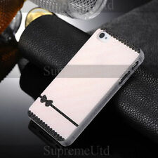Stylish Bow Plastic Rigid Back Case For iPhone 4 4S Mobile Phone Girl Cover