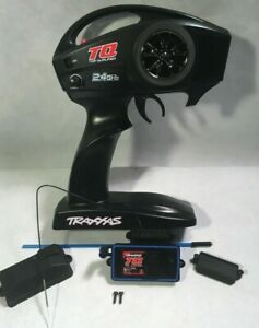 TRAXXAS 2.4ghz Remote And Receiver new rustler slash stampede bandit radio