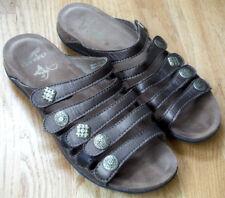 Dansko Size 39 US 8.5-9 Janie Sandals Bronze Metallic Brown Leather Strappy