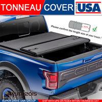 Fits 2015-2018 GMC Sierra 2500/3500HD 5.8ft Bed Hard Tri-Fold Tonneau Cover