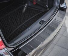 VW PASSAT B8 ESTATE since 2014 REAR BUMPER PROTECTOR GUARD STEEL DARK BRUSHED