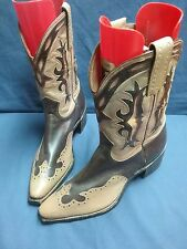 Vintage bike rockabilly riding cowboy motorcycle ranch dance work boots 8.5 D