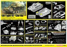 "Dragon 1:35 6875 IJA Type 97 ""Chi-Ha"" w/57mm Gun and New Hull Model Military Kit"