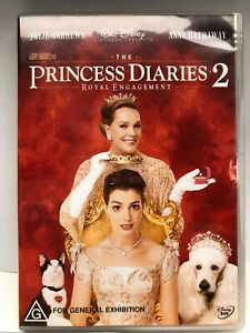 The Princess Diaries 2 - DVD - AusPost with Tracking
